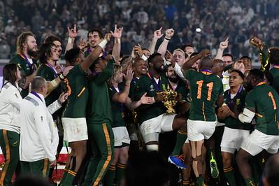 SA Rugby Team World Cup Winners